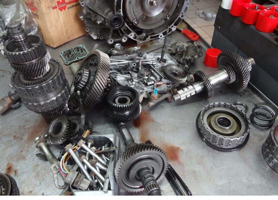 Ремонт автоматической трансмиссии Honda CR-V 2012